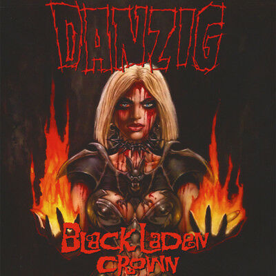 Danzig - Black Laden Crown Black Vinyl Editon (LP - 2017 - EU - Original)