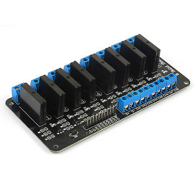 5v 8 Channel OMRON SSR G3MB-202P Solid State Relay Module For Arduino B3B8
