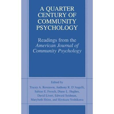 A Quarter Century of Community Psychology: Readings from the American Journal of