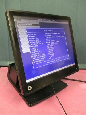 "HP RP7 17"" Retail System Model 7800 i5-2400S 2.50ghz 4GB Ram POS Touch Screen!"