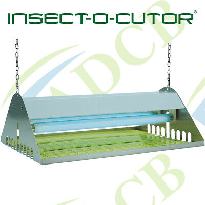 Electric Fly Glueboard Bug Killer Trap Uv Indoor Kitchen Shop Insect