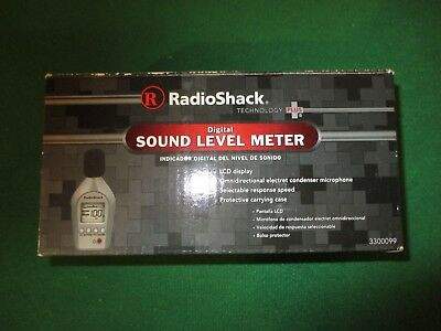 Radio Shack Sound Level Meter In The Box Works Great