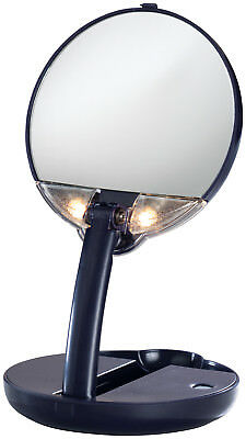 15X Mirror Lighted Adjustable Compact