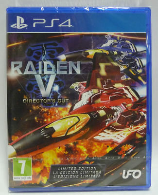 Raiden V Director's Cut Limited Edition Playstation 4 Ps4 Pal New Sealed