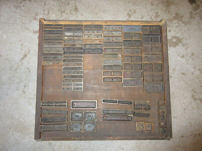 Letterpress Steel Furniture - 85 Pcs.   K49