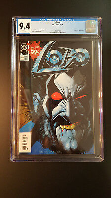 Lobo # 1 CGC 9.4 White Pages L.E.G.I.O.N Appearance