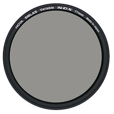 Hoya SOLAS 82mm NDX Variable Neutral Density ND2.5 to ND450 Filter - XSL-82VDY