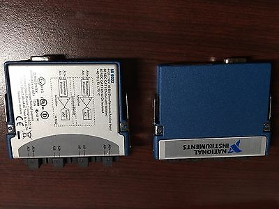 National Instruments NI-9222 ±10 V, 500 kS/s/ch, 16-Bit, Simultaneous, 4-Channel