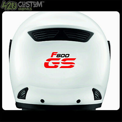 3 X BMW F800 GS NEW MOTTORAD HELMET Decal Sticker Detail-Best QualityMany Colour