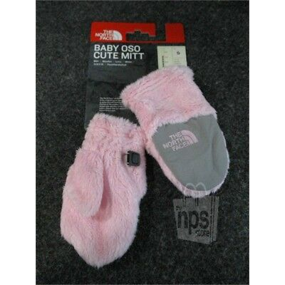 The North Face NF00CLQ6E9G-S Baby/Toddler Oso Cute Mitt Small Coy Pink Mittens