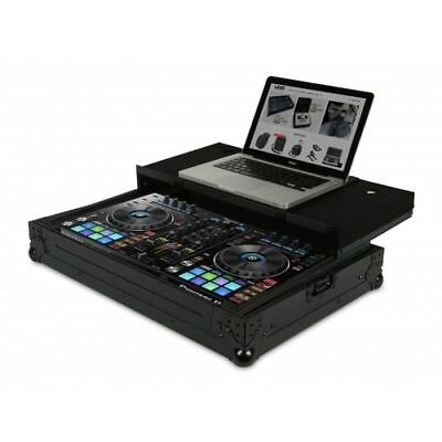 UDG - U91012BL - Ultimate Flight Case Pioneer DDJ-RR/SR/SR2 Black Plus (Laptop S