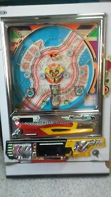 "Very Well preserved 1978 ""Best Machine"" Maruhon Pachinko Machine"