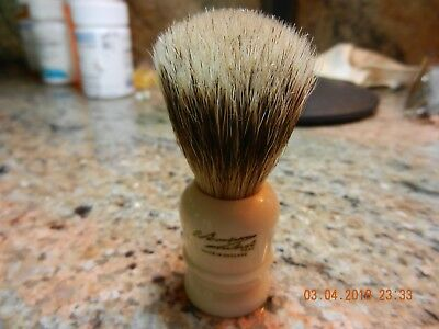 Simpson Wee Scot Best Badger Shaving Brush with box and accessory