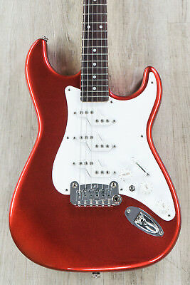 G&L USA Comanche Guitar, Candy Apple Red, Rosewood Fretboard, MFD Z-Coil Pickups