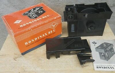 Agfa Rondinax Tank 35U fully functional booklet