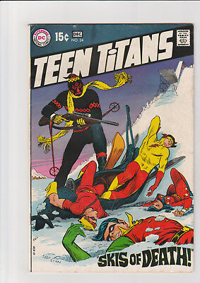 Teen Titans #24 (Nov-Dec 1969, DC) VG+