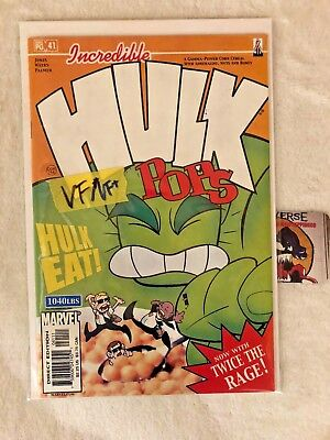 Incredible Hulk Pops #41 Marvel Comics Vf/Vf+