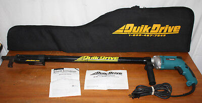 Simpson Quik Drive PRO 250, Makita 6823 Corded Drill w/ Extension, Screw System