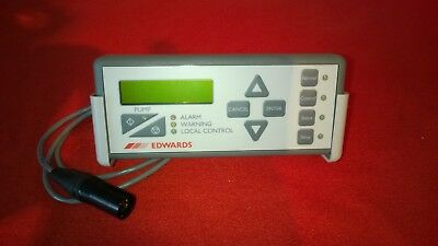 Edwards d37209000 pump display terminal controller