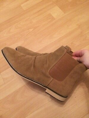 Men's Tanned Chelsea Boots Tan Size 12 Brand New