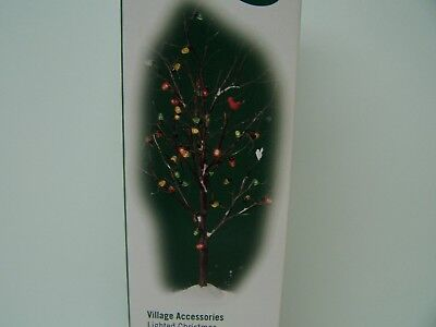 Dept 56 Village Accessories   Lighted Christmas Bare Branch Tree