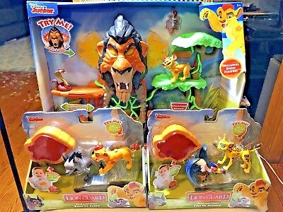 Disney Junior The Lion Guard Rise of Scar Playset w/ 2 Pride vs. Rivals Sets