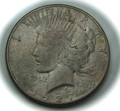 1927-S Peace Silver Dollar - $1 - No Reserve!