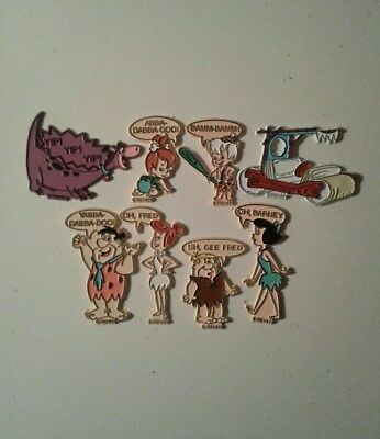 FLINTSTONES MAGNETS Bamm Bamm Pebbles Set of 8 1992