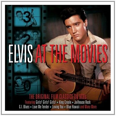 Elvis Presley - At The Movies 3 Cd New+