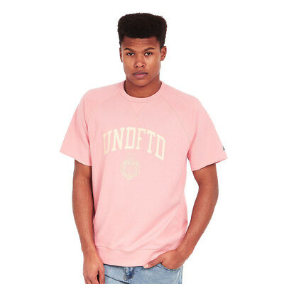Undefeated - College Shortsleeve Crewneck Sweater Coral Pullover Rundhals