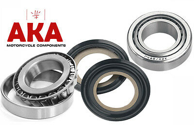 Steering head bearings & seals fits Suzuki RM50 78-82