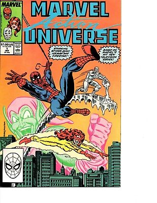 Marvel Action Universe # 1, Featuring Spider-Man And His Amazing Friends
