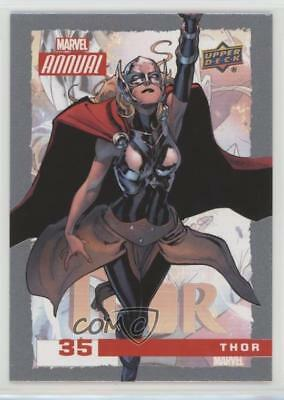 2016 Upper Deck Marvel Annual #35 Thor Non-Sports Card 0p3