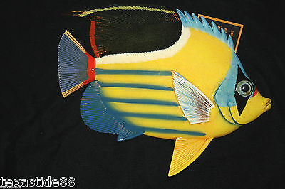 (1)pc, SEAFOOD DECOR, COLOR TROPICAL FISH WALL DECOR, REALISTIC FISH DECOR F-62