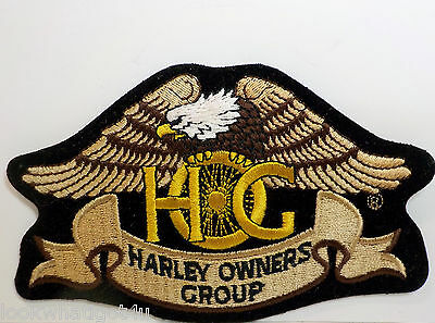 HARLEY DAVIDSON embroidered patch