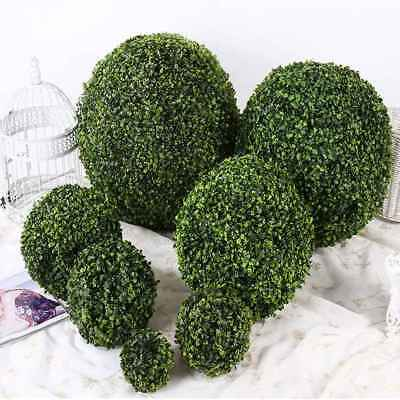 Artificial Plant Green Ball Tree Boxwood Wedding Event Home Outdoor Decoration