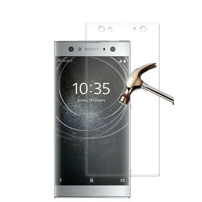 For SONY Xperia XA2 Ultra Tempered Glass Film Cover Full Screen Protector