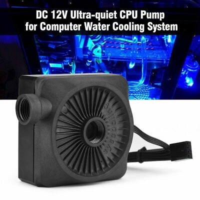 DC 12V Ultra-quiet CPU Pump for Computer Water Cooling System 500L/h G1/4 Thread