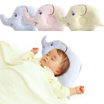 Baby Infant Newborn Pillow Flat Head Sleeping Support Cushion Prevent
