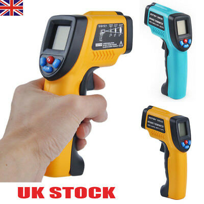 Digital LCD Laser Thermometer Handheld Temperature Non-Contact IR Infrared Gun