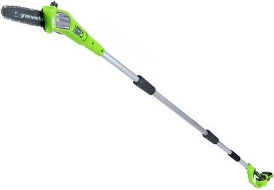 GREENWORKS 8 in. 24-V Cordless Pole Saw Chainsaw Lithium Ion Battery (Tool Only)