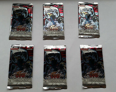 YuGiOh : 6 x The Shining Darkness Booster  / OVP