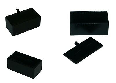 Wholesale 300 x Cufflink Black Empty Boxes cuffs guys mans shop stock  XCBOX