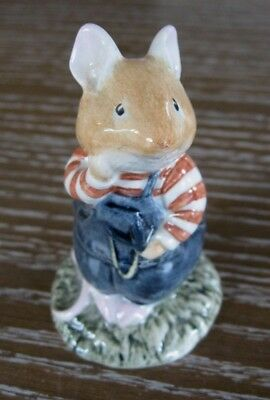 Royal Doulton Beatrix Potter Figure Wilfred Toadflax From the Brambly Hedge HTF
