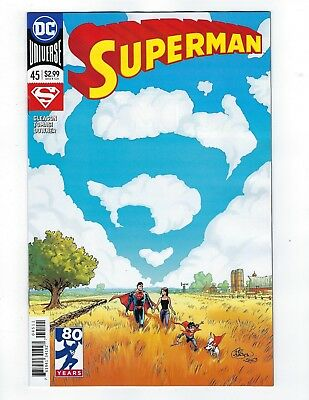 Superman # 45 Regular Cover NM Unread DC 1st Print