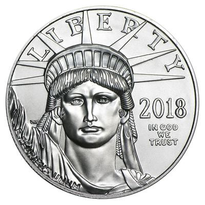 2018 American Platinum Eagle 1 oz US Mint Coin