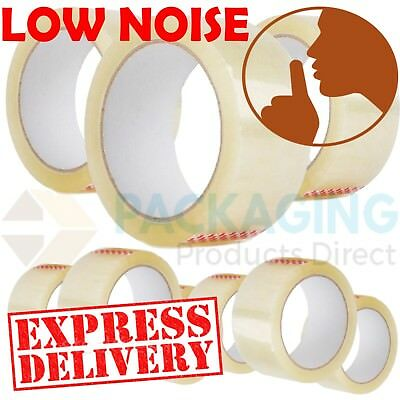Prima FRAGILE High quality Silent Low Noise Strong Packing Tape 50mm x 60m