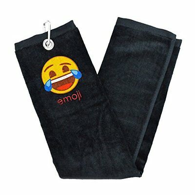 Official Emoji Crying with Laughter Golf Towel