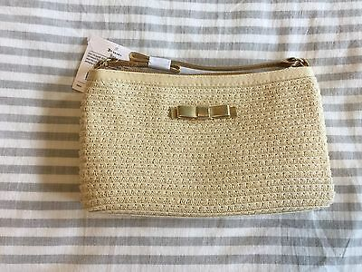 Janie and Jack Savana Soiree Tan Gold Purse NWT VHTF