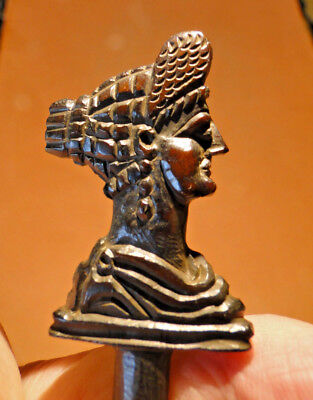 Superbly Decorated Bone Hair/Toga Dress Pin (2nd-3rd Century)